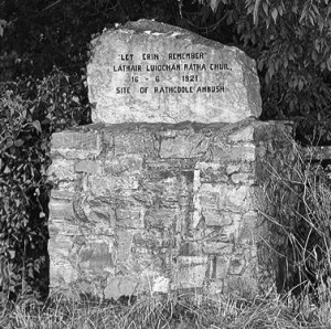 2014-06-16 Monument at the site of the Rathcoole ambush