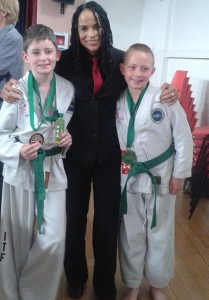 2014-06-20 Millstreet's new 6th Kup Green belts 02