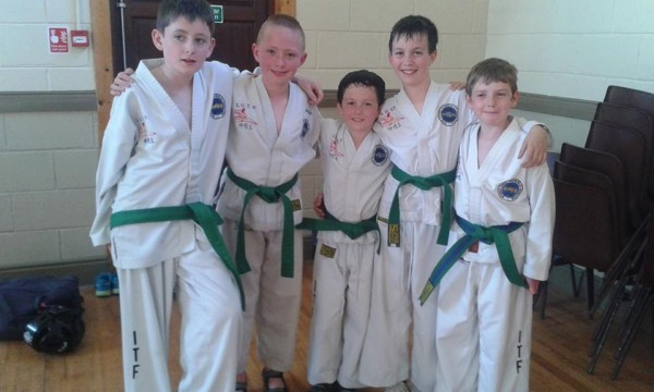 2014-06-20 Millstreet's new 6th Kup Green belts 04