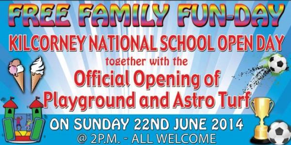 2014-06-22 Kilcorney NS Family Fun Day - poster