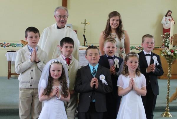 2014-06 First Holy Communion in Kilcorney