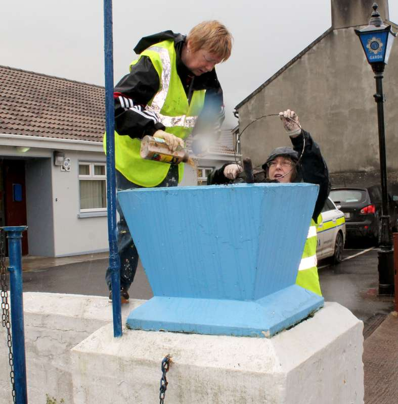 36Millstreet Tidy Towns in action Summer 2014 -800