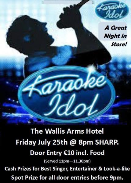 2014-07-25 Karaoke Idol - poster