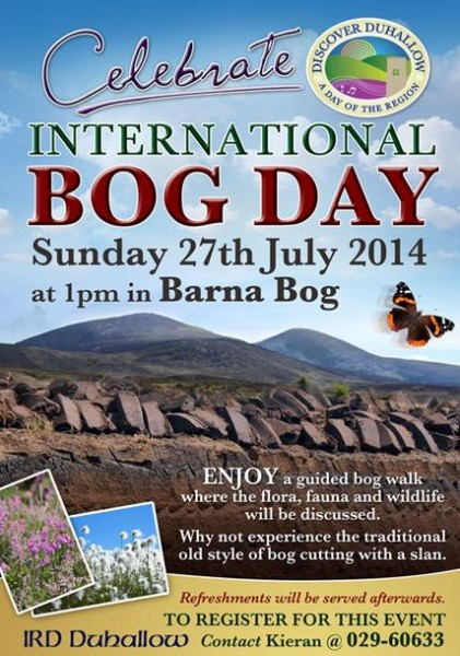 2014-07-27 International Bog Day at Barna Bog - poster