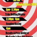 2014-07-27 Millstreet Men's Shed Soapbox Race - poster