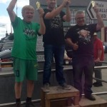2014-07-27 Podium after the Men's Shed Soapbox Race