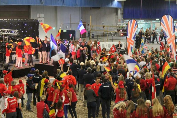 9Official Opening of European Pony Championships 2014 -800