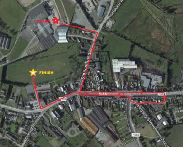 We thank Leire from the EJC2014 Organising Committee for this much appreciated Route Plan for Saturday's spectacular Parade which begins from Green Glens at 1.30 p.m..  Click on the map to enlarge.  (S.R.)