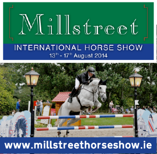 2014-08-11 Millstreet International Horse Show - poster