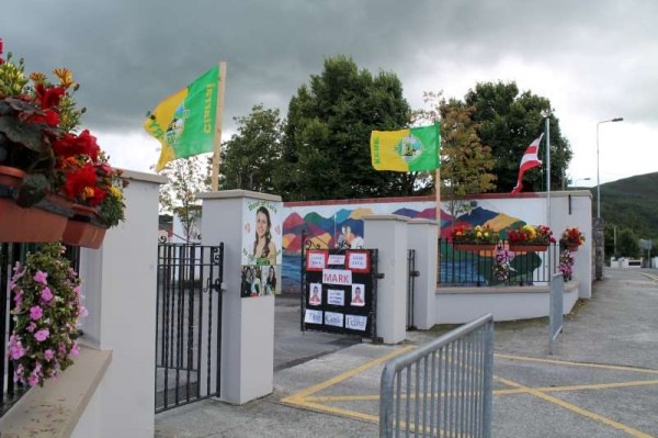 Two Flag Display in Millstreet 2014