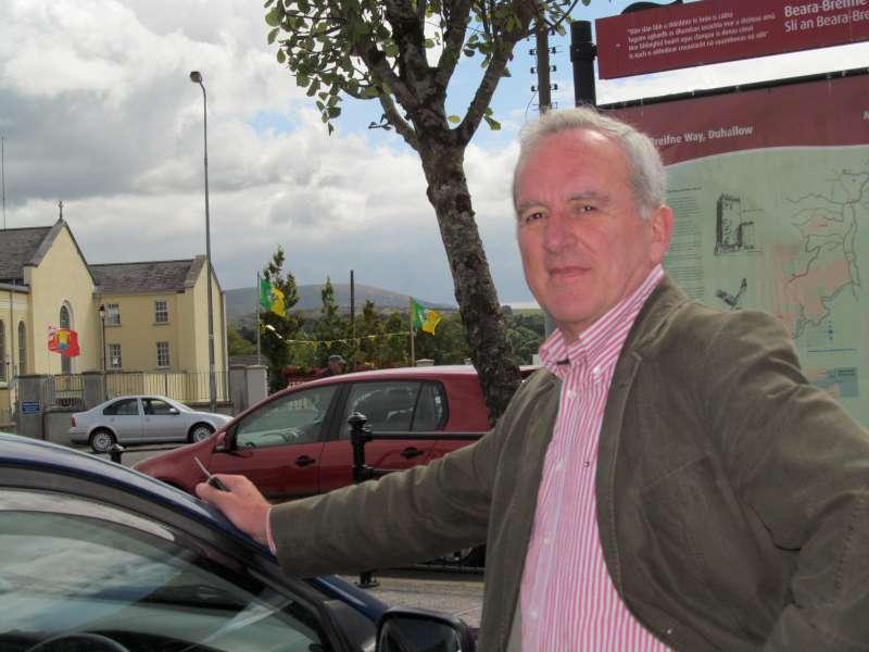 """Pat O'Sullivan (aka """"Sylvano the Magician) from Killarney in one of"""