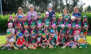 2014-08-23 Stars of the Future !! The U8 Millstreet Camogie girls in their new jerseys kindly sponsored by Reens Pharmacy.-1000