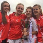 2014-08-30 Chloé Collins - Cork are All Ireland U16 Ladies Footall Champions