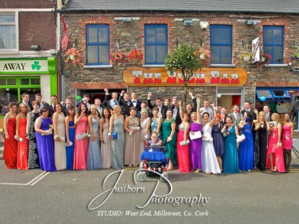 This magnificent picture of the recent Millstreet Community School's Debs Occasion was kindly shared by Photographer supreme, Justin Black.  Click on the image to enlarge.  (S.R.)