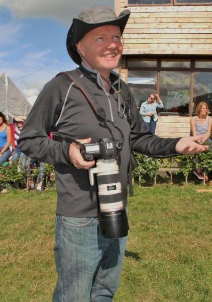 Denis O'Regan at Green Glens on Sunday, 3rd Aug. 2014