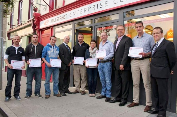 The presentation of certificates for those who over a period of five months participated in the Beacon Initiative Retail Development Programme took place on Tuesday, 9th Sept. 2014 in the E-Centre at The Square, Millstreet.   Click on the images to enlarge.  (S.R.)