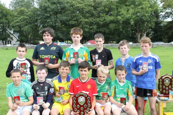 We thank Colin Sheahan for this wonderfully comprehensive coverage of the recent Tony Galvin Memorial Juvenile Match and the Match in memory of Keith Sheahan held at the Los Zarcos Pitch in Station Road, Millstreet on Saturday, 30th August 2014.  Click on the images to enlarge.  (S.R.)