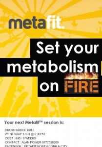 2014-09-04 Metafit evening - poster
