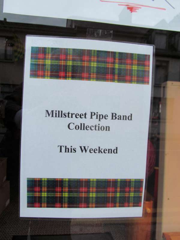 Millstreet Pipe Band Poster
