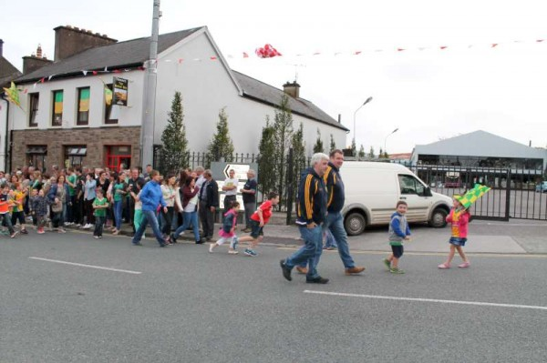 24Victory Parade for Millstreet Football Champions 2014 -800