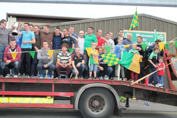 40Victory Parade for Millstreet Football Champions 2014 -800