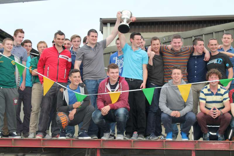 43Victory Parade for Millstreet Football Champions 2014 -800