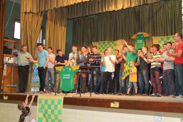 76Victory Parade for Millstreet Football Champions 2014 -800