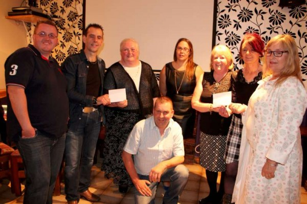 18Carriganima Presentation of Cheques to Millstreet & Macroom -800