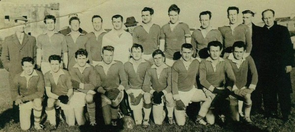 1956 The Millstreet Team that beat St.Nicks in the County Junior Football FInal