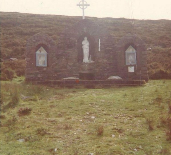 St. John's Well Grotto October 1973 - many thanks to David Aherne for the photo