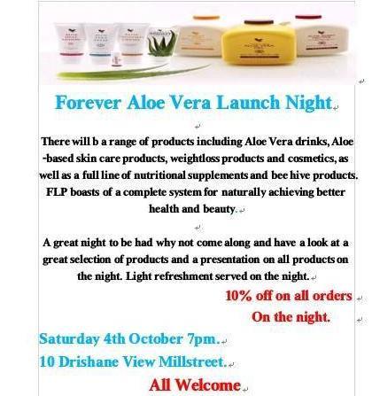 2014-10-04 Forever Aloe Vera Launch Night