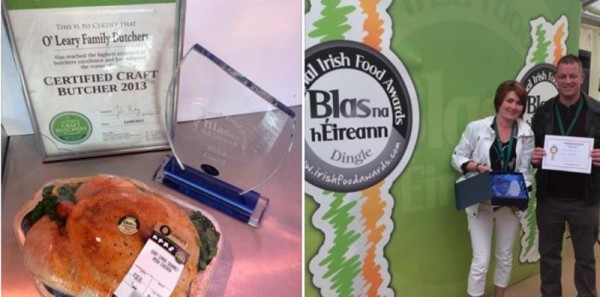2014-10-04 Irish Food Awards - O'Learys Butchers Gold_rsz