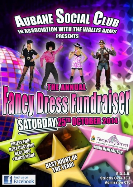 2014-10-09 Aubane Fancy Dress - poster