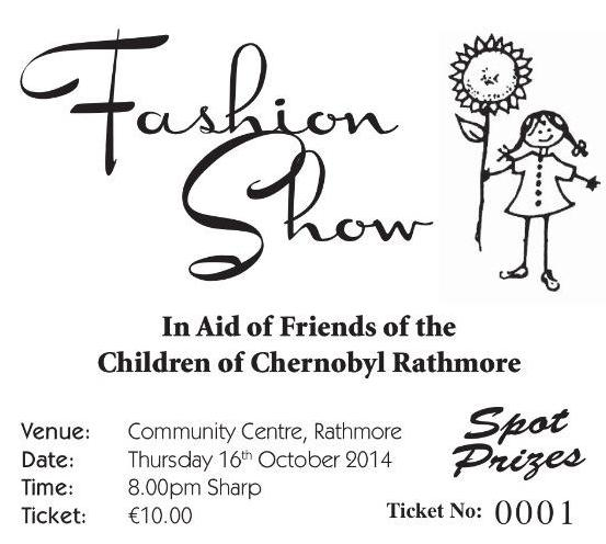 2014-10-16 Fashion Show in aid of Chernobyl Children - Rathmore