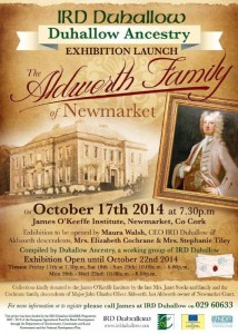 2014-10-17 Aldworth Family Exhibition - poster_rsz