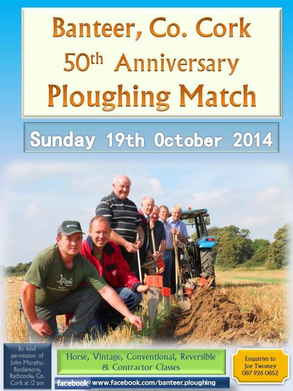 2014-10-19 Banteer Ploughing Match - poster