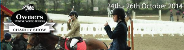 2014-10-25 Owners Pony and Young Riders Show - header