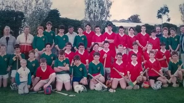The first Alan O'Connor commemoration game held in 1989