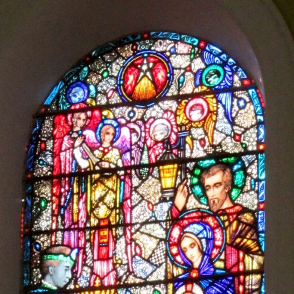 The historic occasion of the choice of the Millstreet Church Window would have been further enhanced if the name of the Church and the name of the Photographer (Bill Power) had appeared on the stamp also!  But we all know the actual background to this marvellously uplifting occasion.