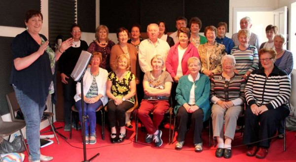 1Preparing for CD Launch 2014 of Millstreet Community Singers -800