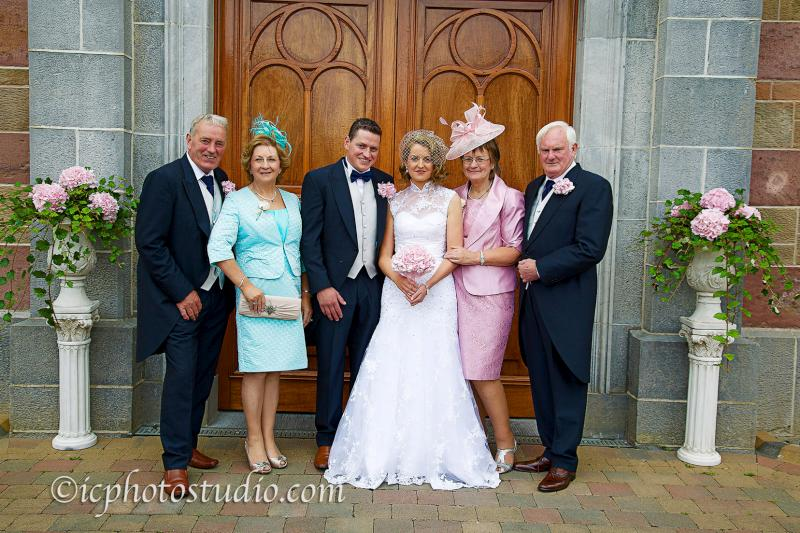 The Wedding Of Maura Sheahan And Simon Foley Took Place On August 9th 2014 At StPatricks Church Millstreet Officiated By Cannon John Fitzgerald