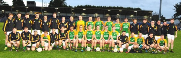 2014-11-05 Millstreet JAFC Team at the County Final - photo John Tarrant