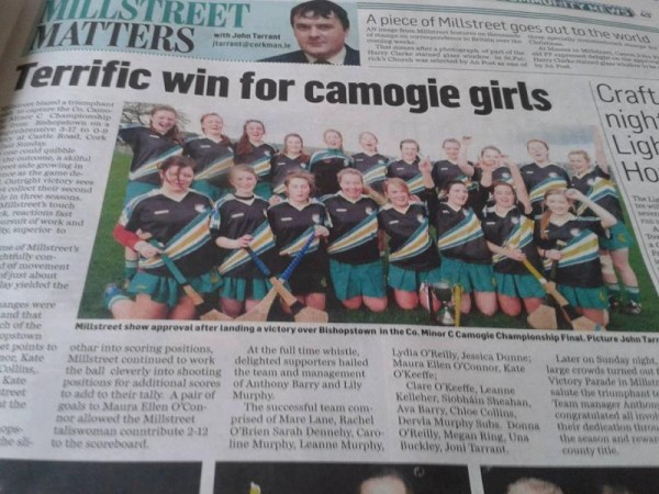 2014-11-09 Terrific win for camogie girls
