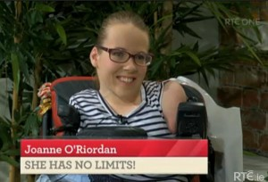 2014-11-19 Joanne O'Riordan on the Today Show
