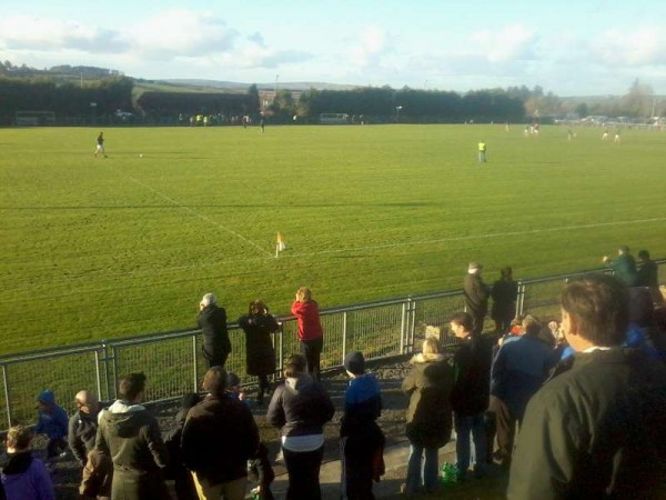 2014-11-23 Brosna v Millstreet - half time 2