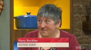2014-11-28 Mary Buckley on the Today Show - RTE ONE 01