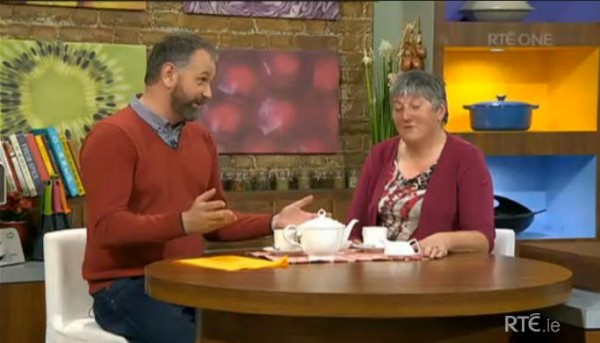 2014-11-28 Mary Buckley on the Today Show - RTE ONE 02