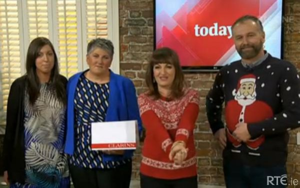 2014-11-28 Mary Buckley on the Today Show - RTE ONE 08