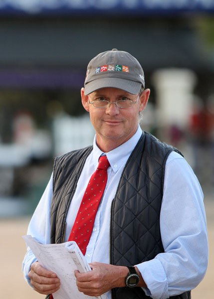 Neil O'Connor - formerly  of West End, now a top Showjumping judge in the USA (photo from Feb 2013)