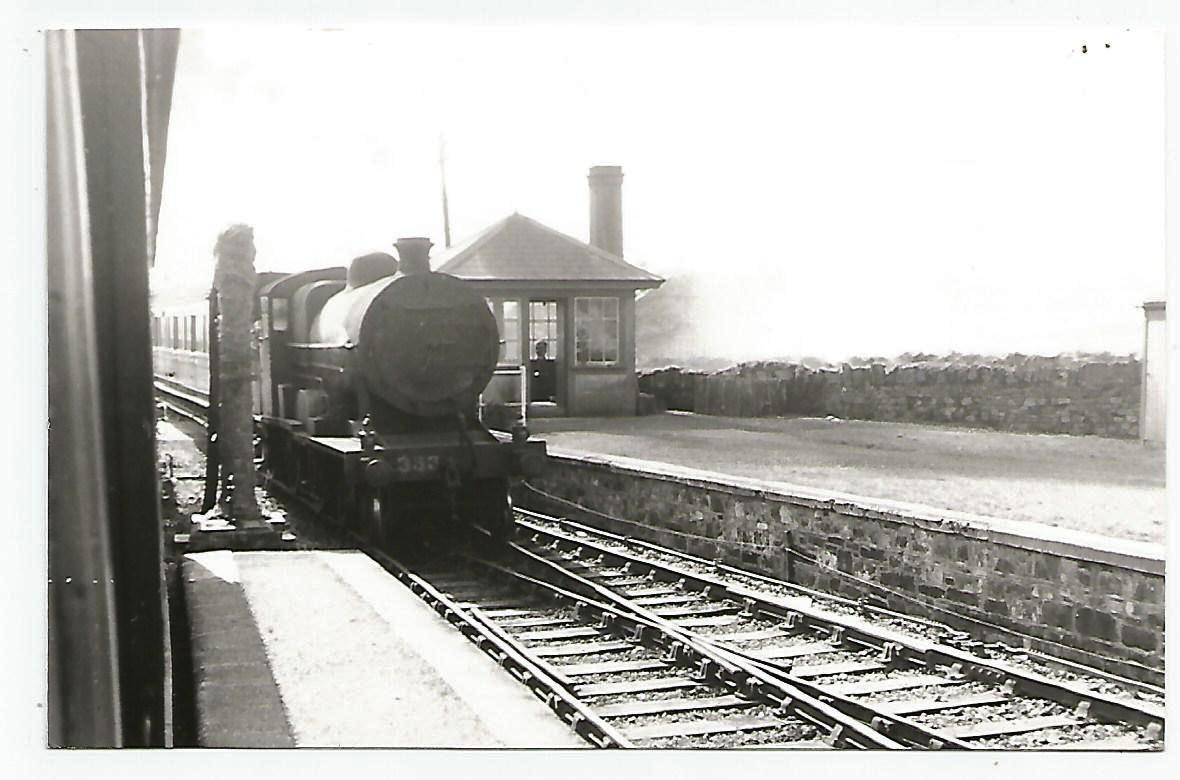 Old postcard of Millstreet Train Station